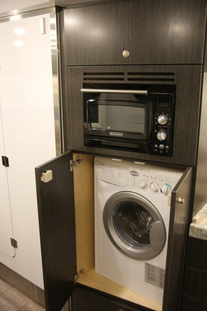 Expedition truck - washing machine