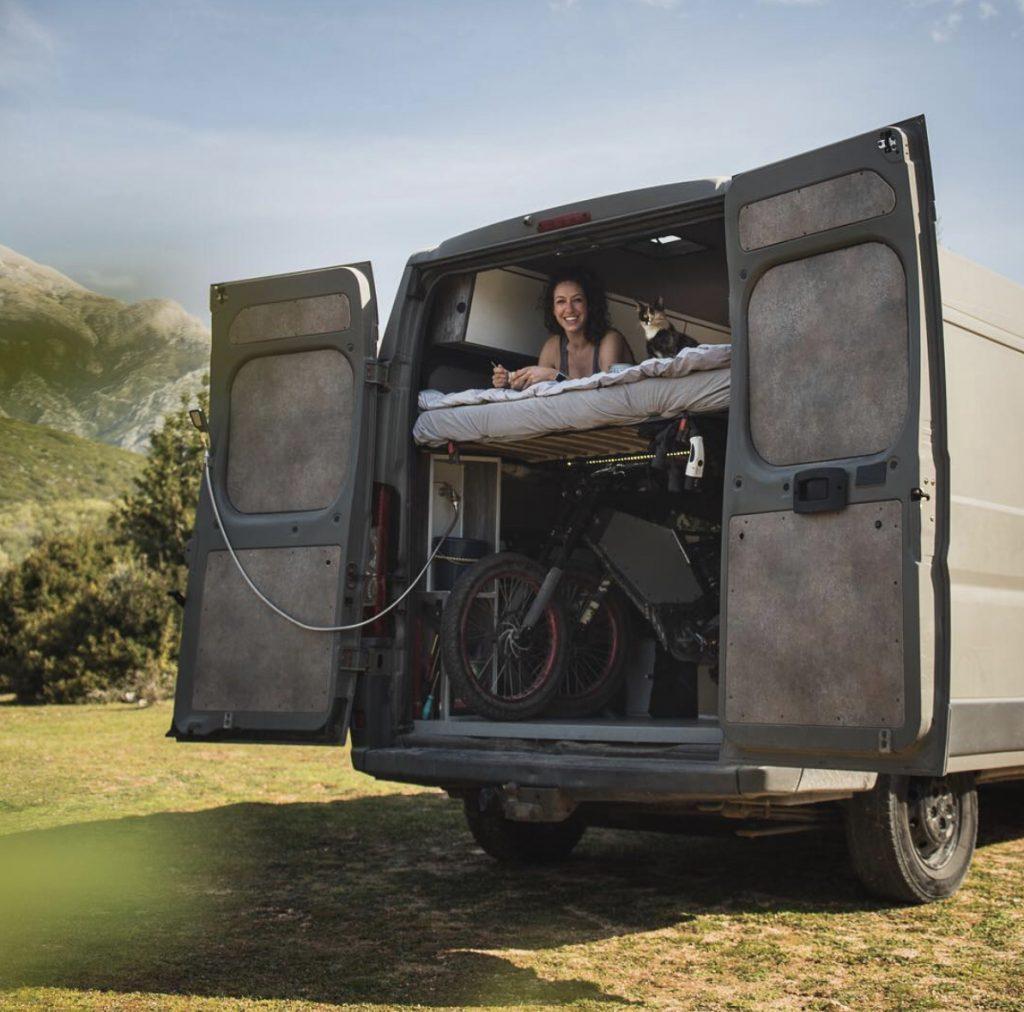 Stealth campers - doors