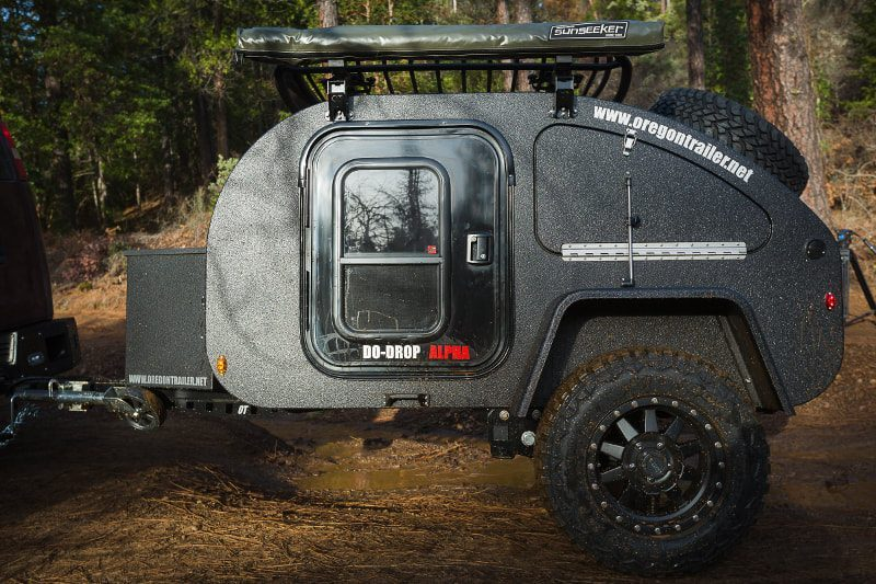 oregon camper trailers exterior side