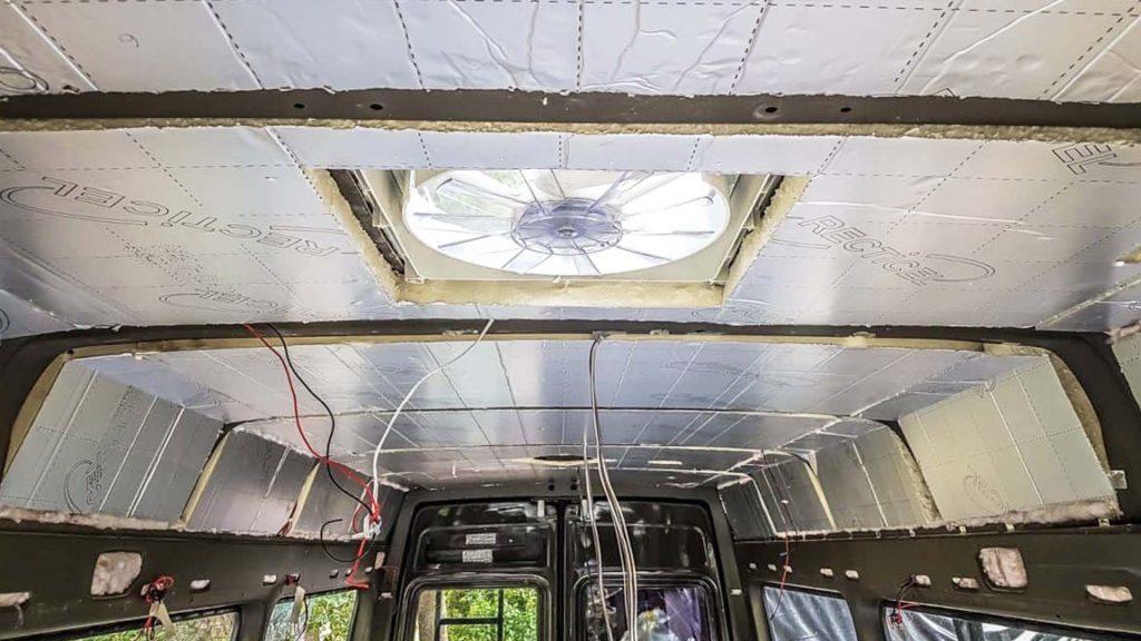 how to insulate a camper ventilation