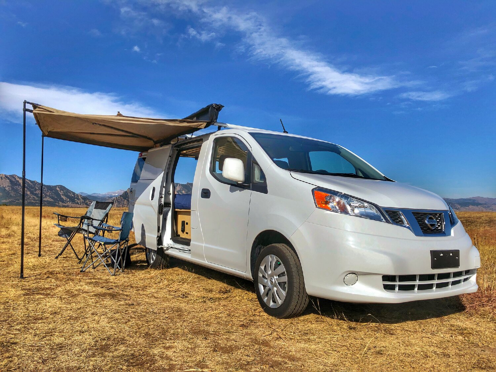 nissan nv200 small camper van conversion