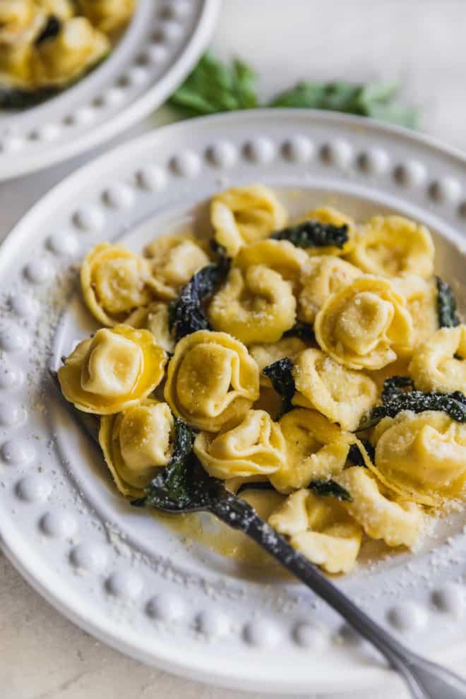 campervan recipes: simple tortellini