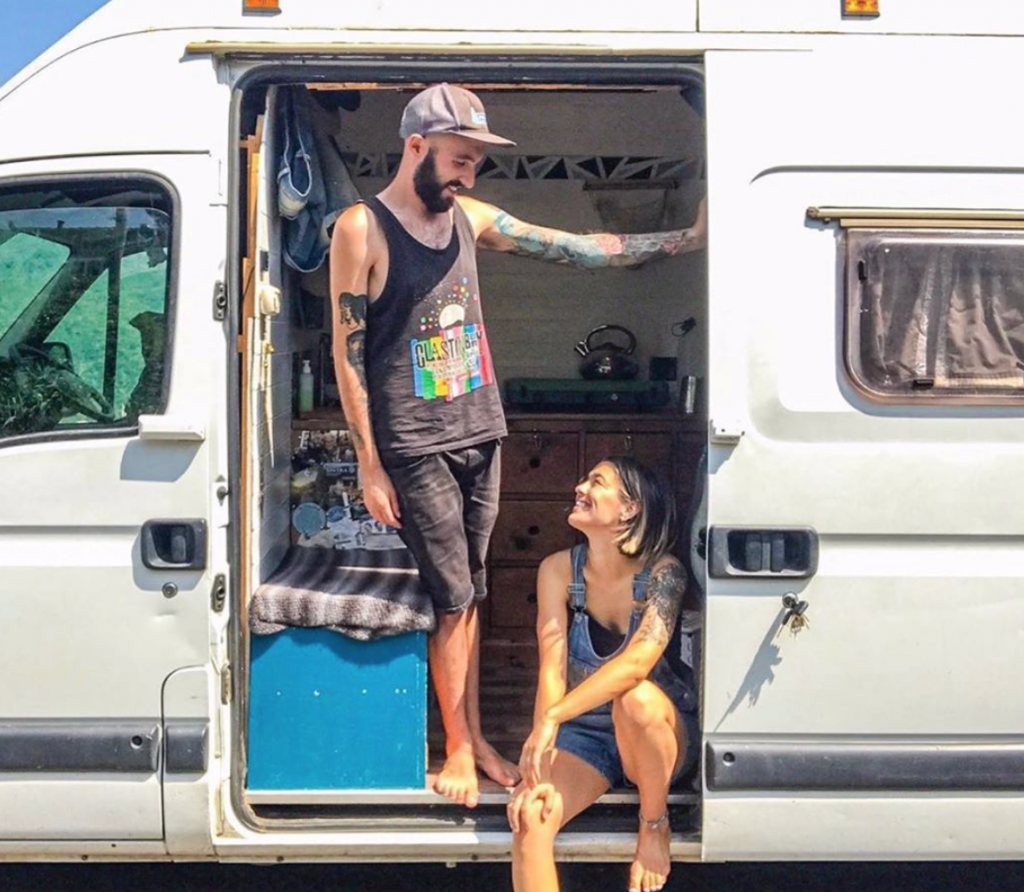 living in a tiny house - van life