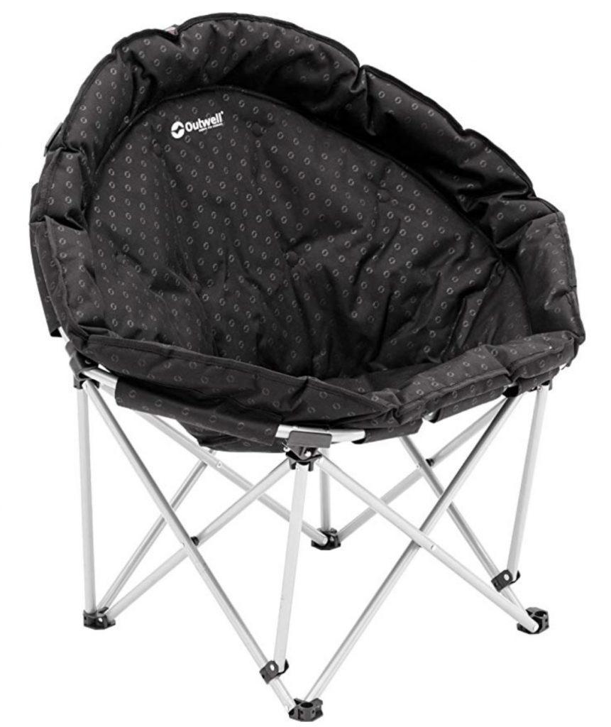 Black moon chair