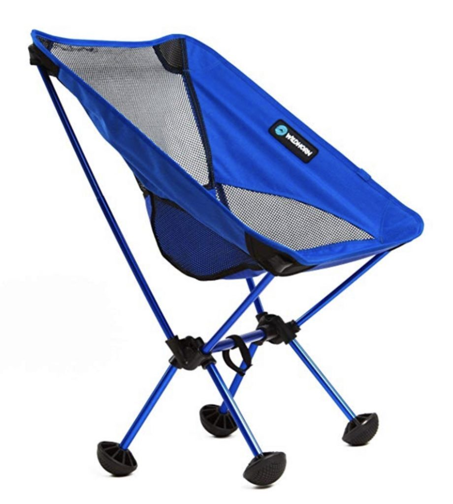 Best camping chairs - blue terralite chair