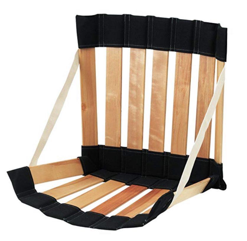 Wooden floor chair