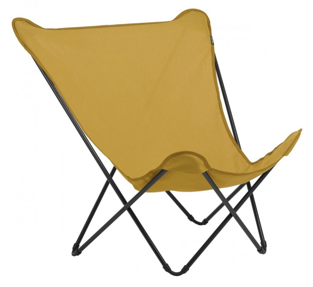 Best camping chairs - yellow lafuma chair