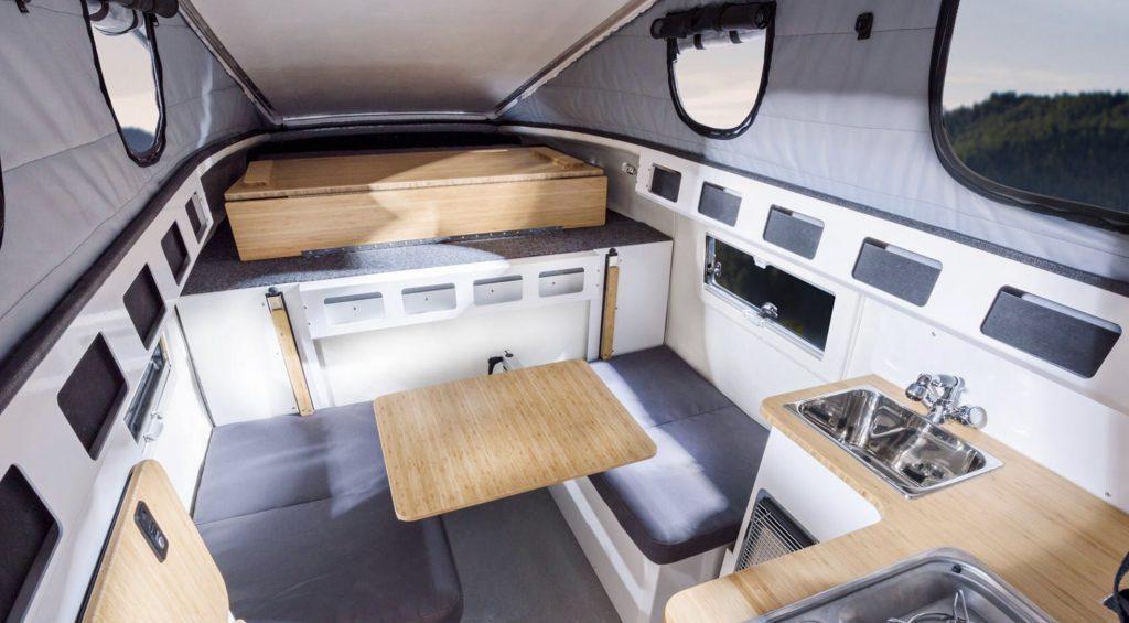 Inside the EarthCruiser GZL 300