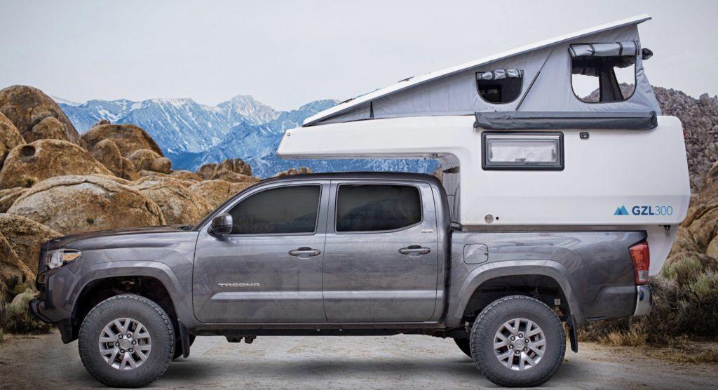 Best camper vans - EarthCruiser GZL 300 popped up