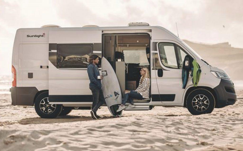 Best camper vans - sunlight cliff 600 exterior