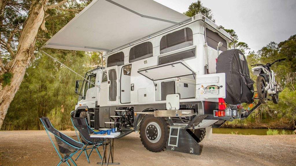 unimog exhibition vehicles