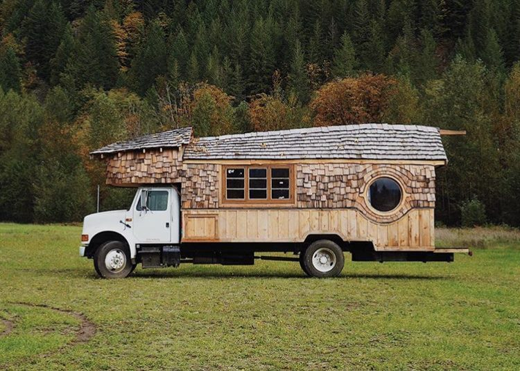 The ugly truckling exterior, side view