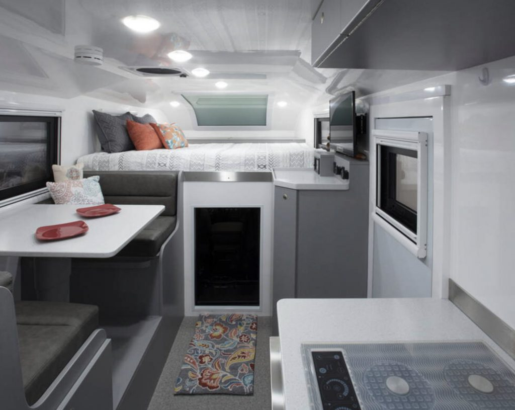 Interior of Adventure Truck XT