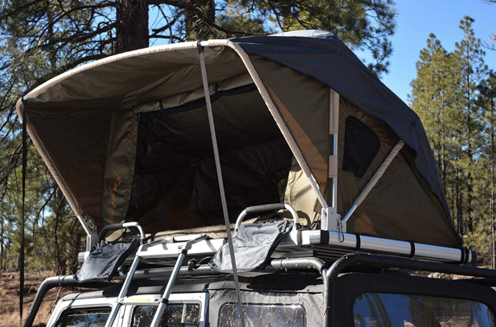best pop up tents - Raptor Series curved roof tent