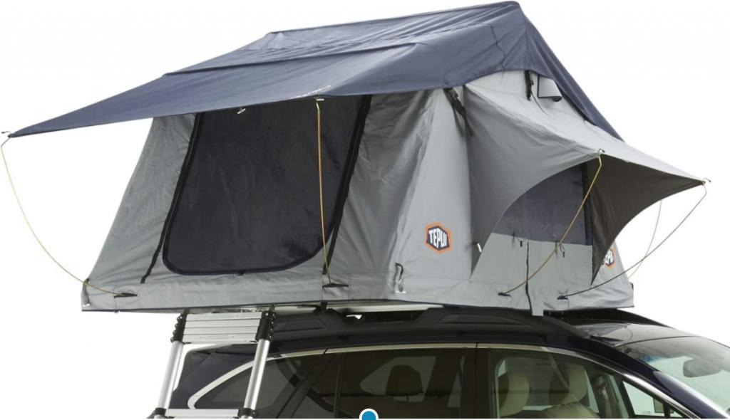 best pop up tents - Tepui Explorer in grey.