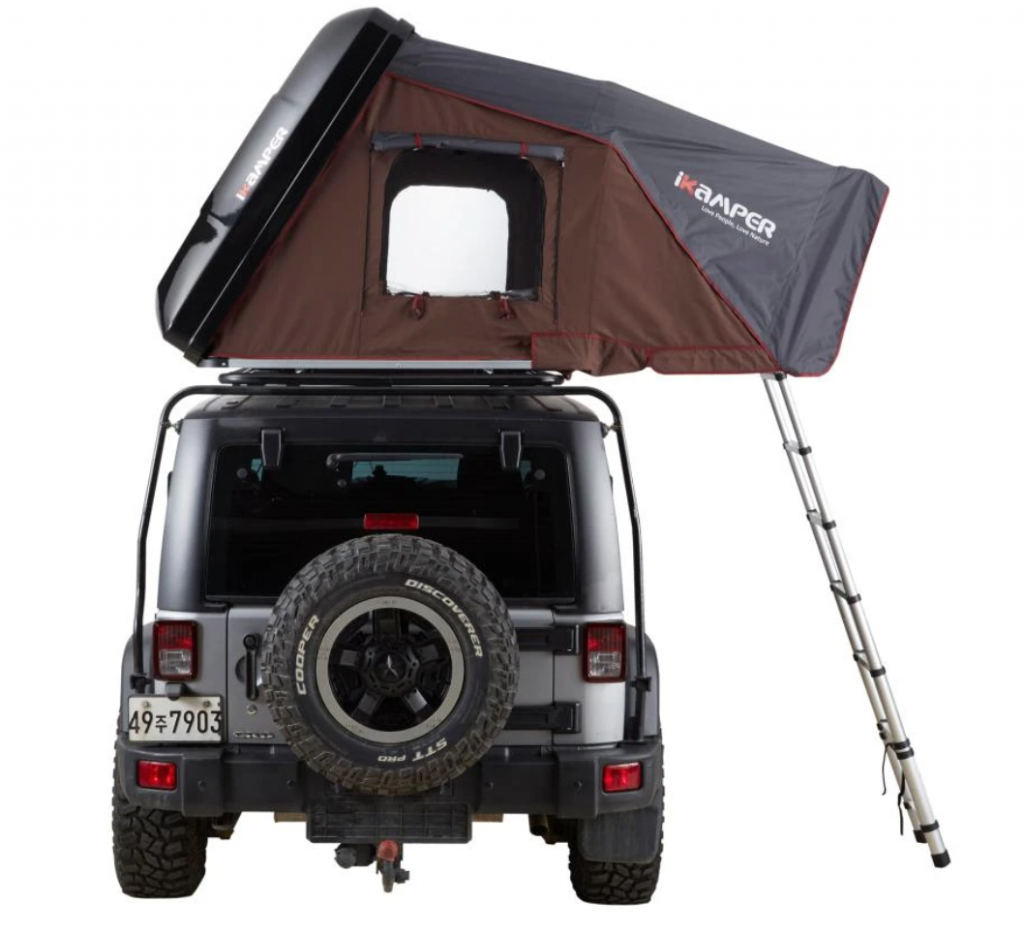 SKYCAMP 2.0 rooftop pop up tents