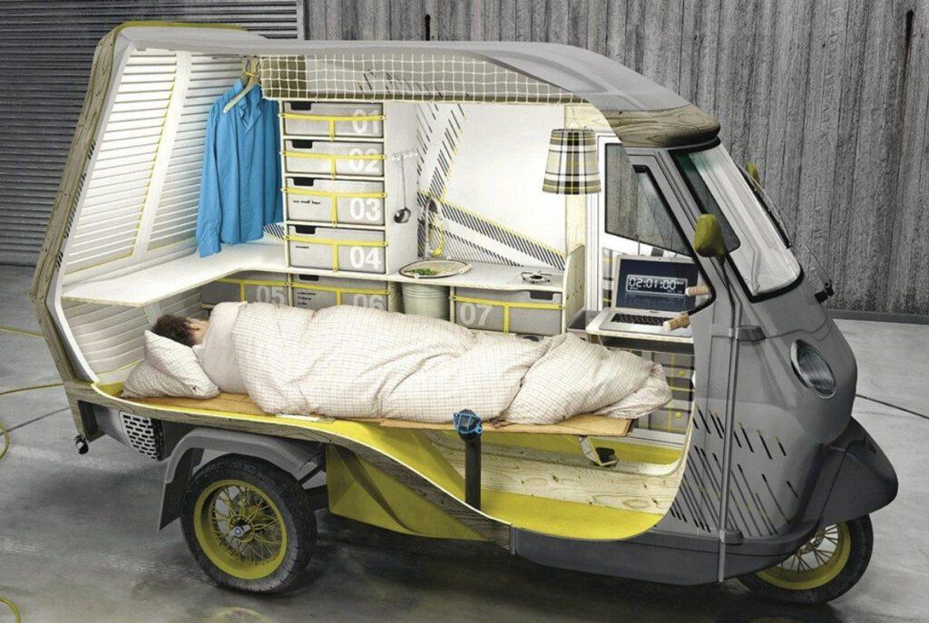 Crazy campervans - tuk tuk concept