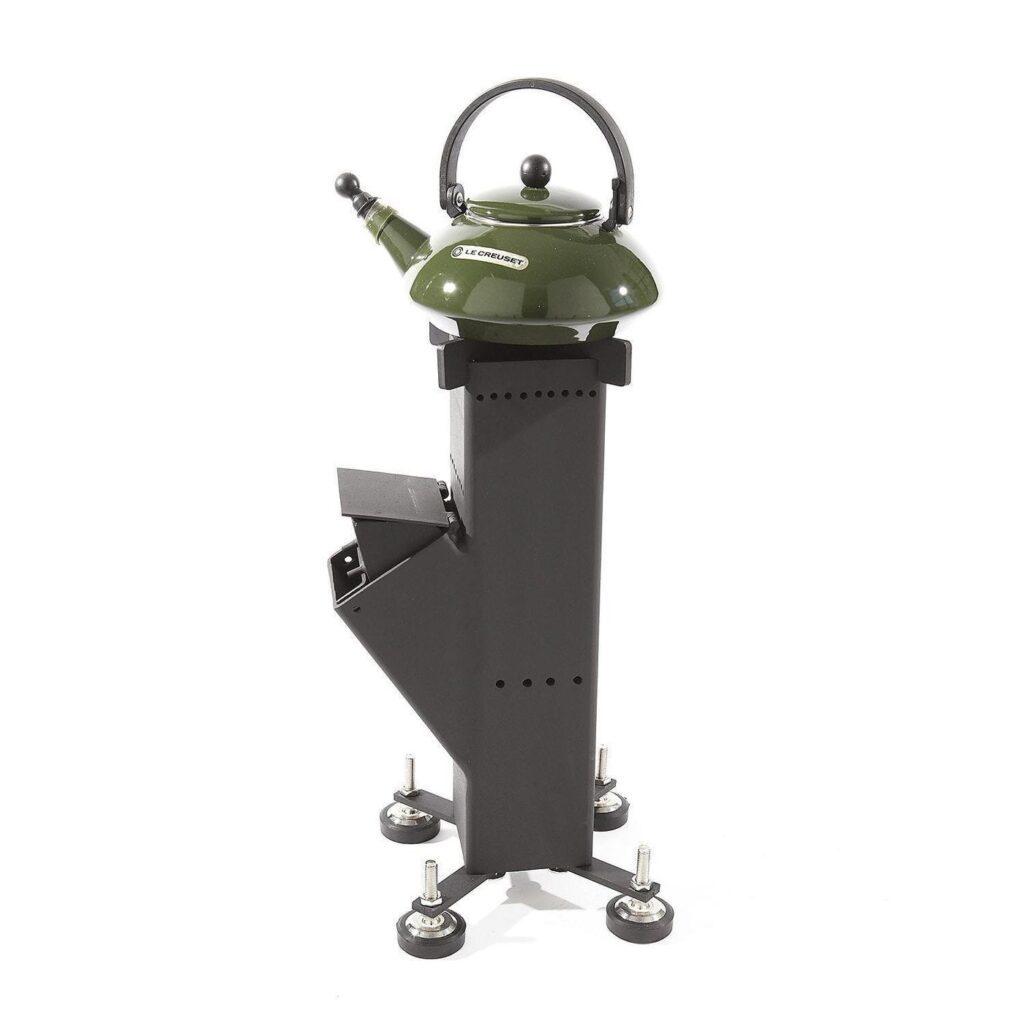 Outdoor rocket burner