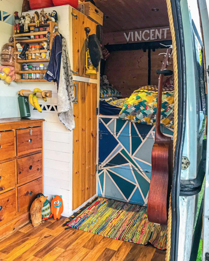 Our van Vincent, fully converted