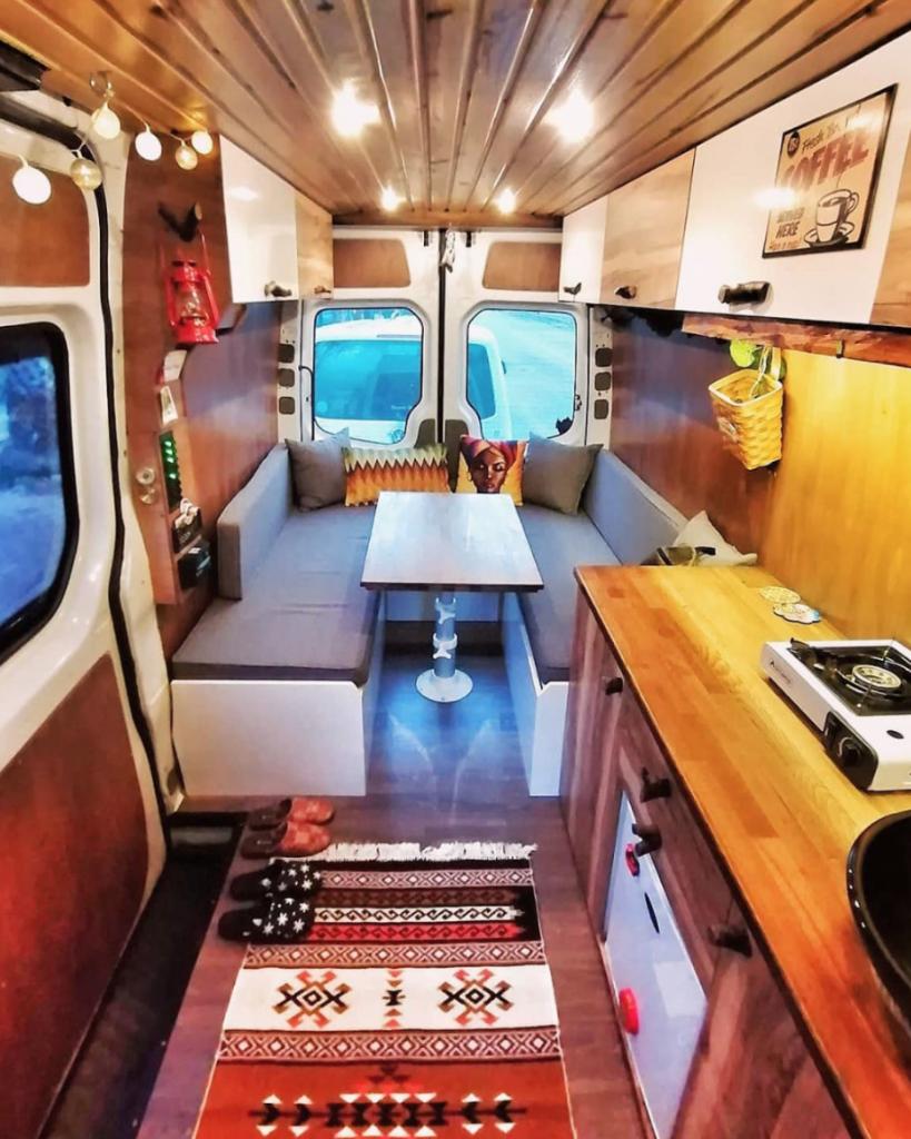 Sprinter Vs Transit - Inside a Sprinter Camper van