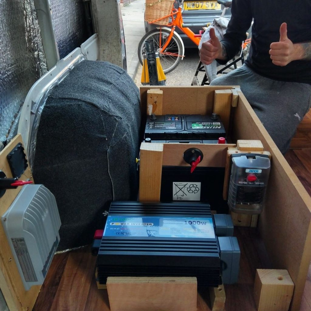 van build mistakes - take time on your electrical system