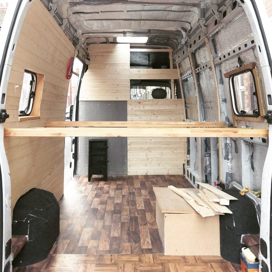 van build mistakes - don't try to do DIY when you're tired!