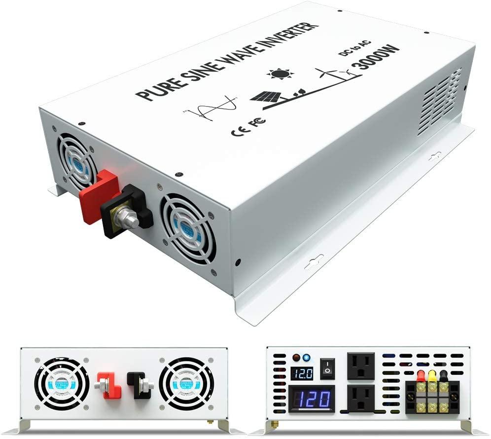 Best 12V Inverter - 3000w WZRELB Inverter