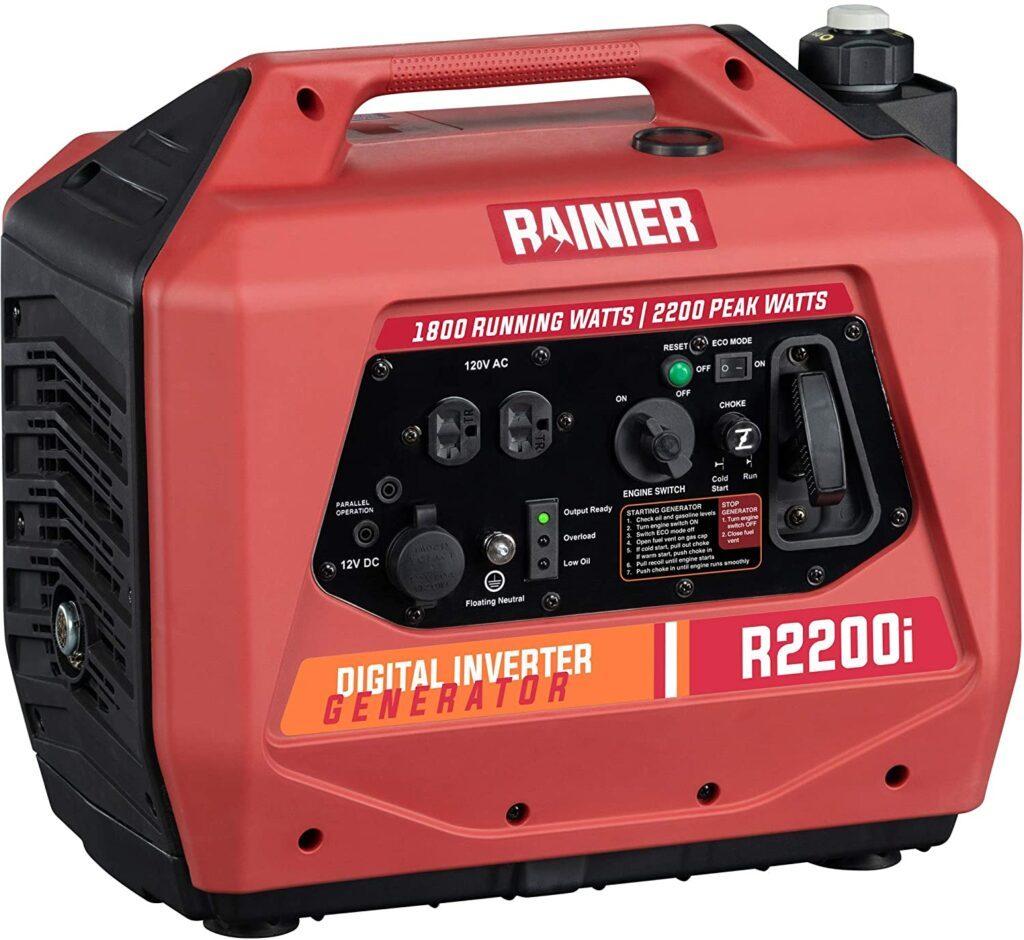 best suitcase generators - Rainier