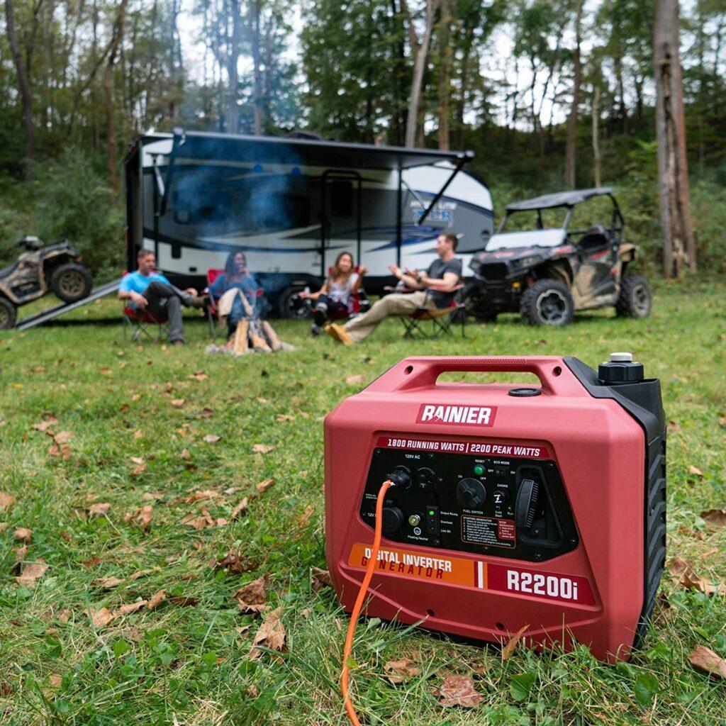 Are suitcase generators loud