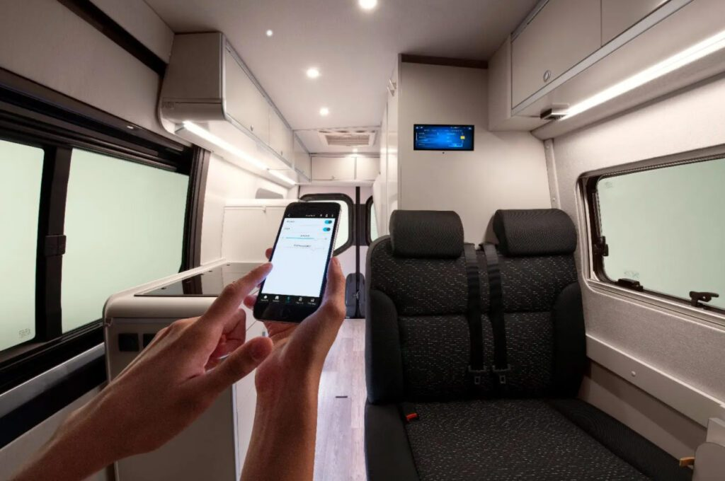 Sprinter Connected Home with MBAC technology built in - interior