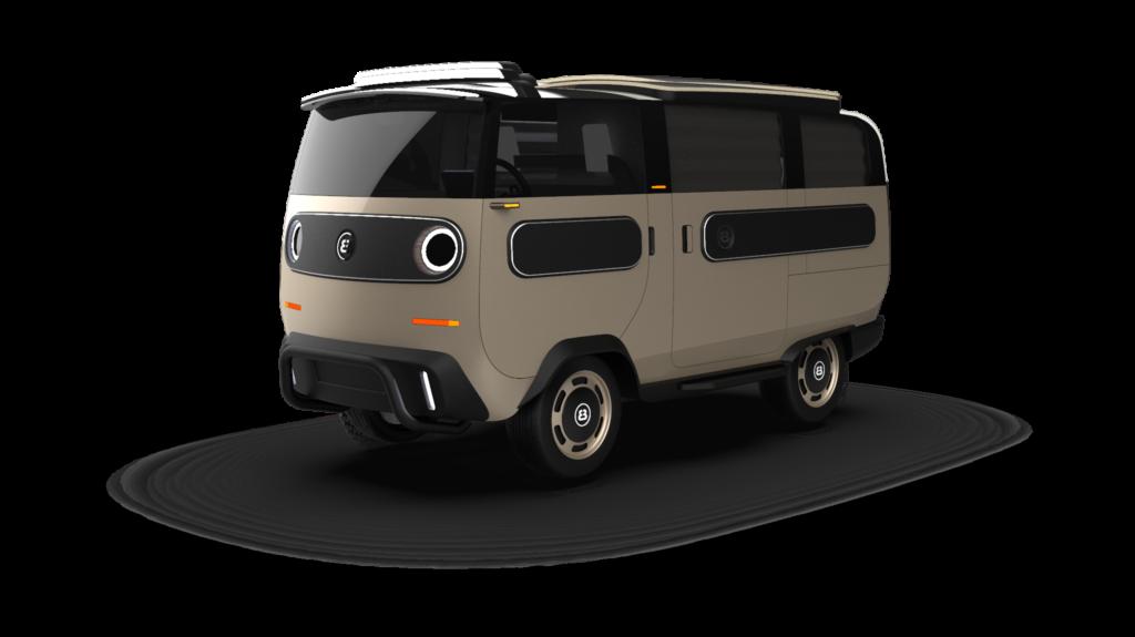 eBussy electric camper van - the camper model