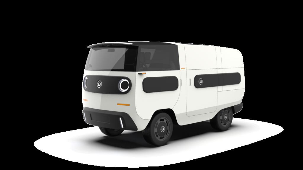 eBussy electric camper van - transpoerter model
