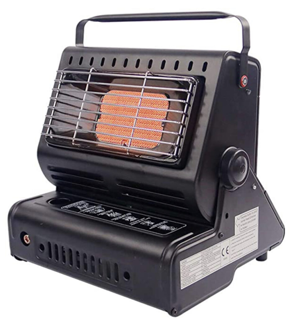 Camping tent heater - polae