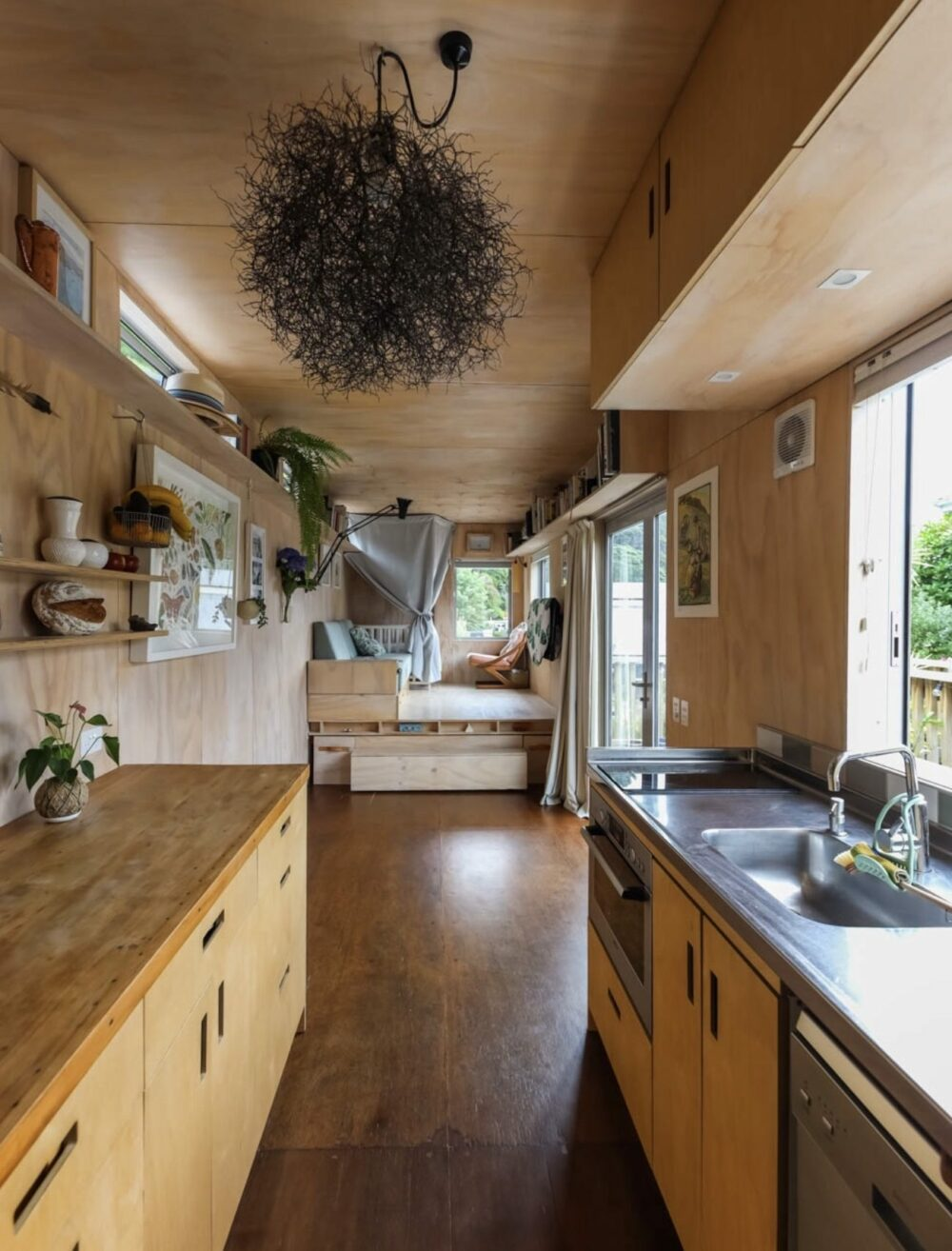 Kim and James Self Build storage container homes