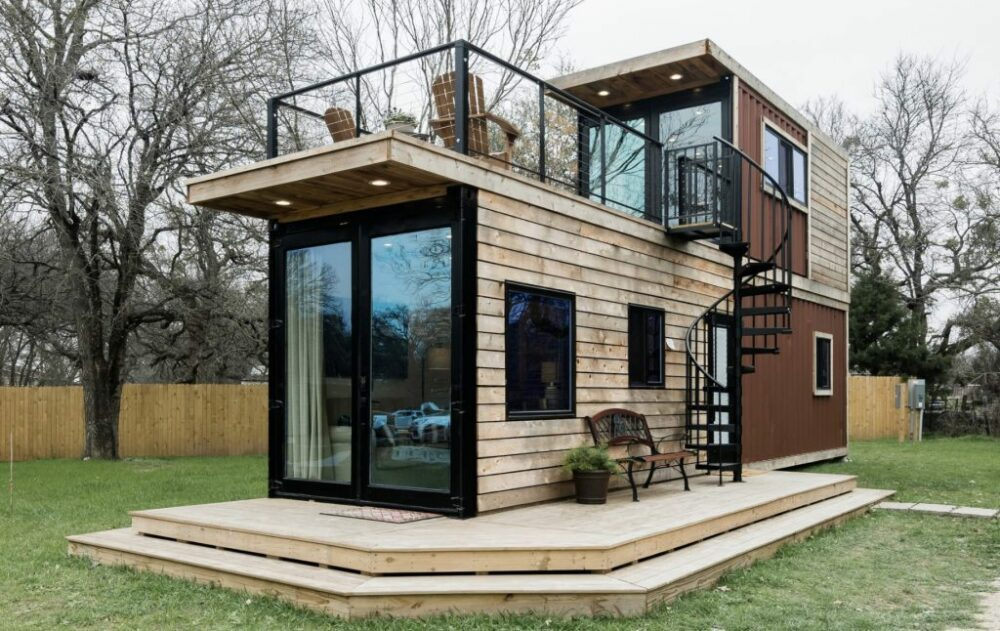 The Helm by Cargo Home 2 story shipping container homes