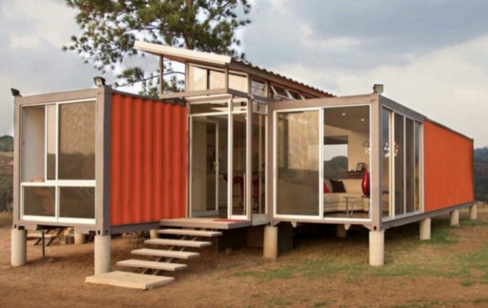 Cheap shipping container homes