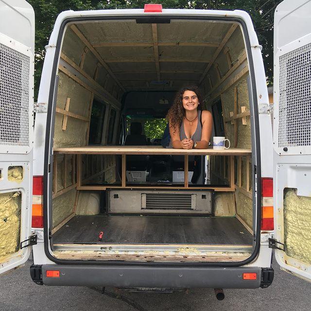 Self building a van bed
