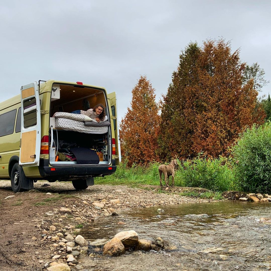 vanlife monthly costs wide view